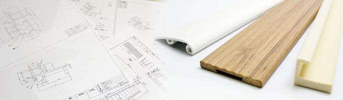 使用段階まで考えた設計で、本当に価値のある押出成形品を製造します。