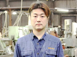 製造オペレーター 矢田 友和